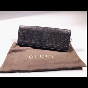 💯% Authentic Gucci Guccissima Broadway Clutch